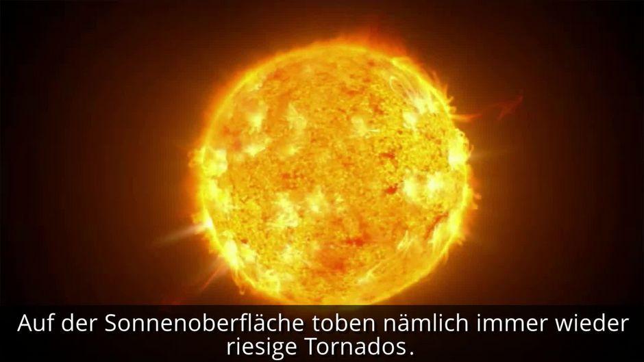 Riesige Tornados auf der Sonne gefährden die Erde