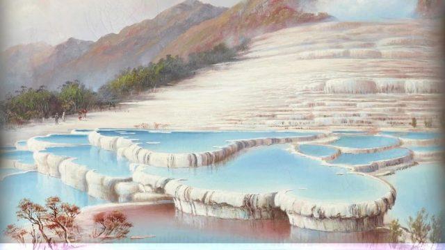 8. Weltwunder: Wurden die Weißen und Pinken Terrassen von Neuseeland nicht komplett zerstört?