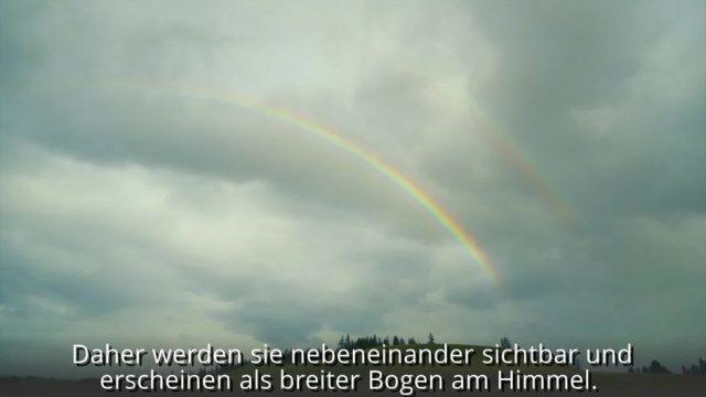Alltagsfrage erklärt: So entsteht ein Regenbogen