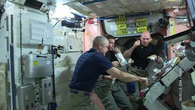 Essen wie Astronaut Alexander Gerst