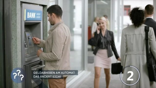 Geldabheben am Automat: Das ändert sich!