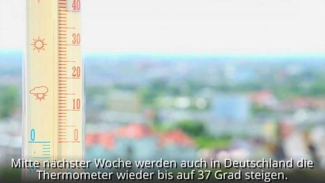 Neue Hitzewelle: Temperaturen bis zu 50 Grad in Europa