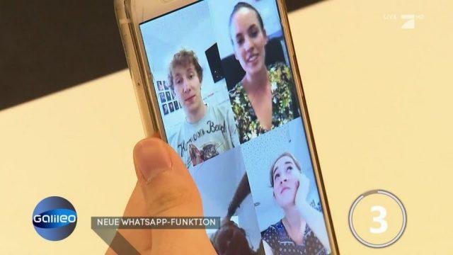 Neue WhatsApp-Funktion: Videochats in Gruppen