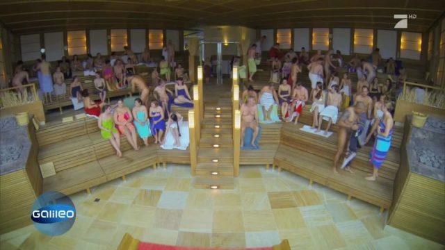 Platz 14: Die größte Sauna der Welt