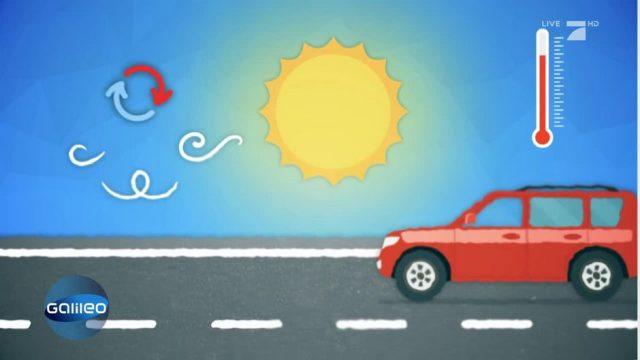 Schlaumeier: Wie entsteht Hitzeflimmern?