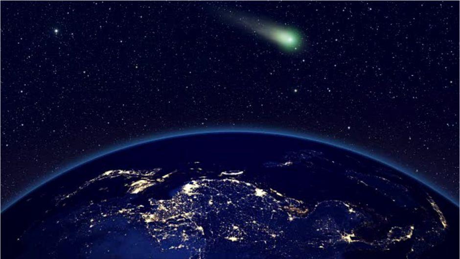 """""""Unglaublicher Hulk""""-Komet rauscht an Erde vorbei - und hinterlässt XL-Wolke"""