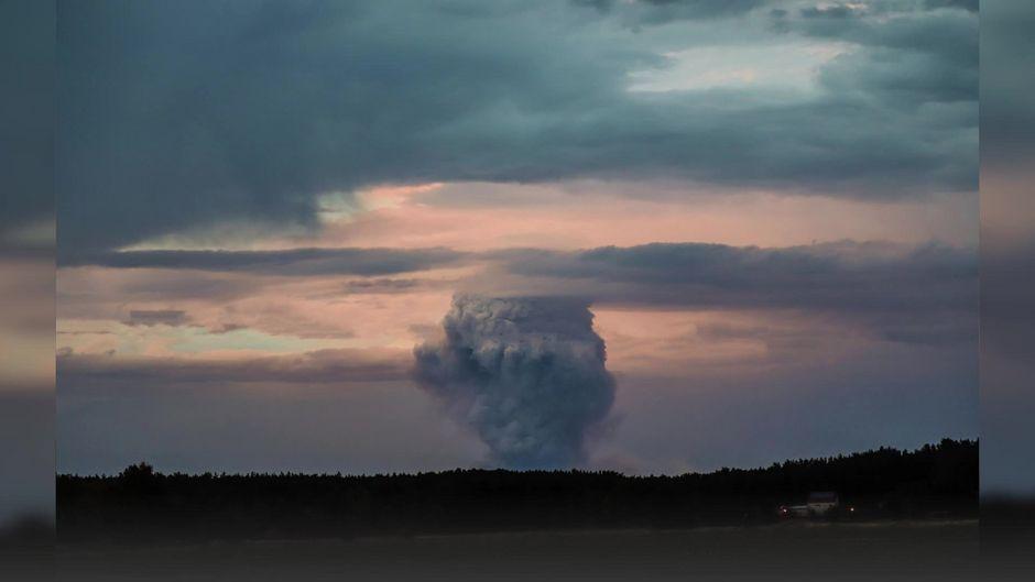 Waldbrand bei Berlin: Noch keine endgültige Entwarnung