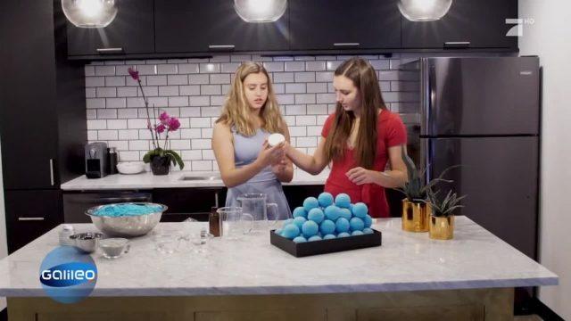 Bomben Idee: Bunte Seifenkugeln für die Badewanne
