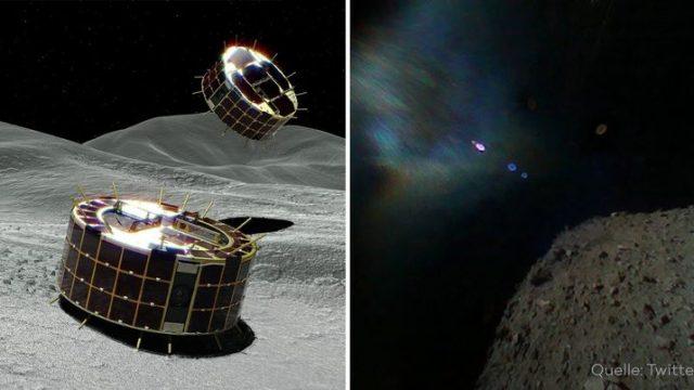 Erste Bilder von der Oberfläche eines Asteroiden in der Geschichte der Menschheit