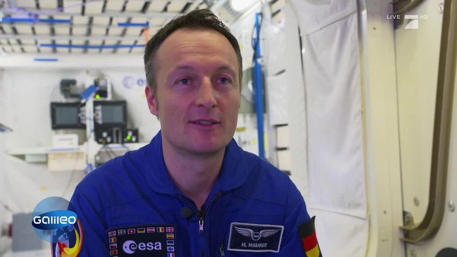 12. Deutscher auf der ISS: Matthias Maurer.