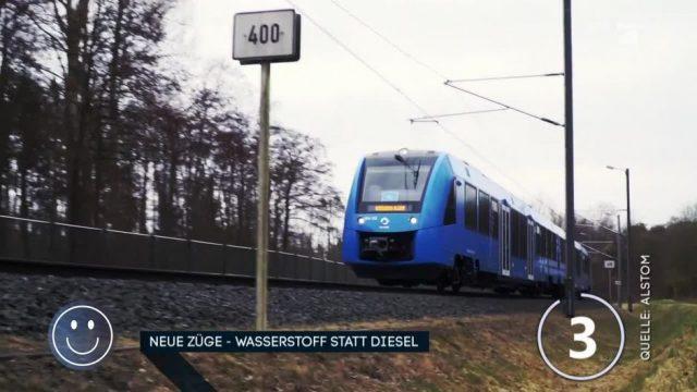 Neue Züge: Wasserstoff statt Diesel