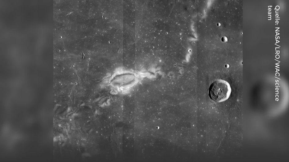 Seltsame Muster auf dem Mond gaben Rätsel auf - jetzt ist ihr Ursprung klar