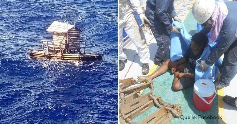 Teenager überlebt 49 Tage alleine im Pazifik in einer Fischerhütte