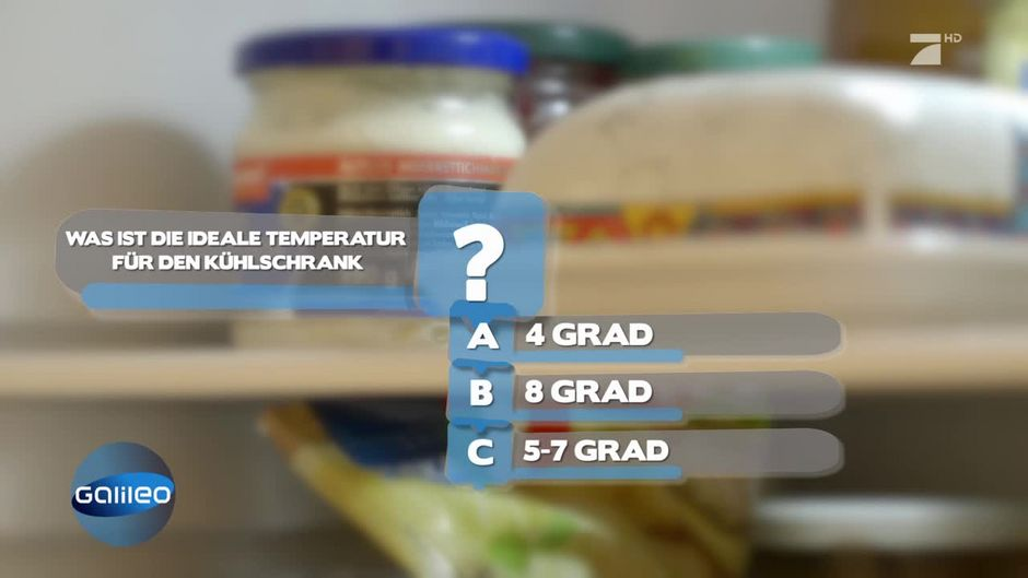 Was Ist Die Ideale Kuhlschranktemperatur