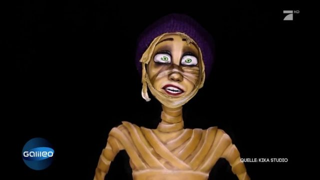 Abgefahrenes Halloween Make-up - so gelingt es!