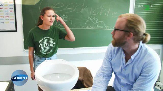 Dürfen Lehrer den Toilettengang verbieten?