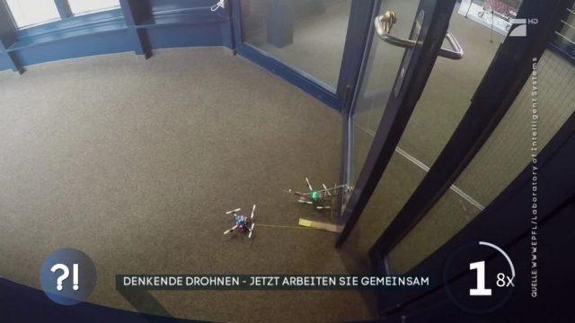Denkende Drohnen: Jetzt arbeiten sie auch zusammen