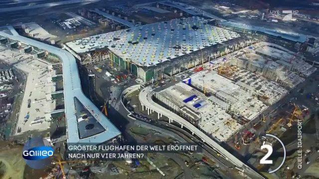 Der größte Flughafen der Welt hat eröffnet