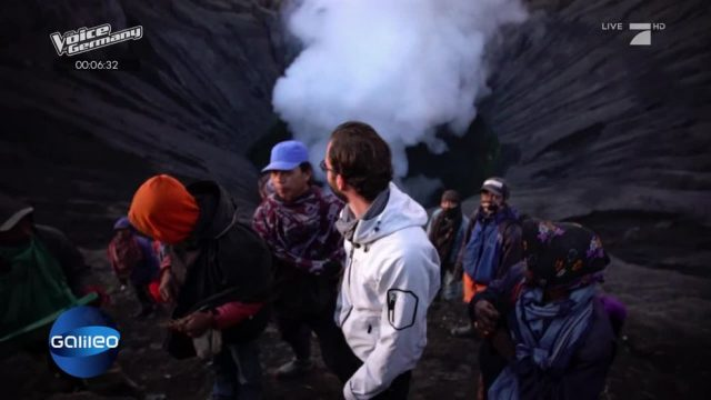 Die Glücksjäger: Deshalb klettern sie in einen aktiven Vulkan