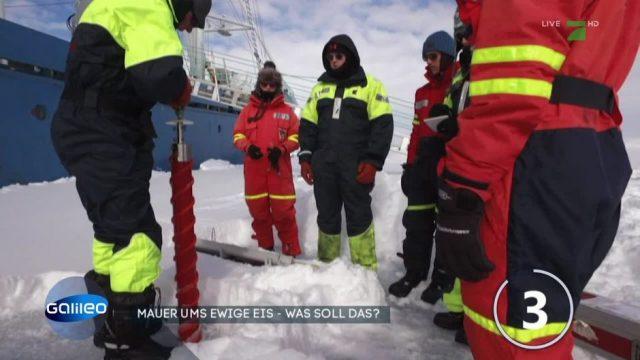 Montag: Kann Geo-Engineering das Schmelzen der Gletscher verhindern?