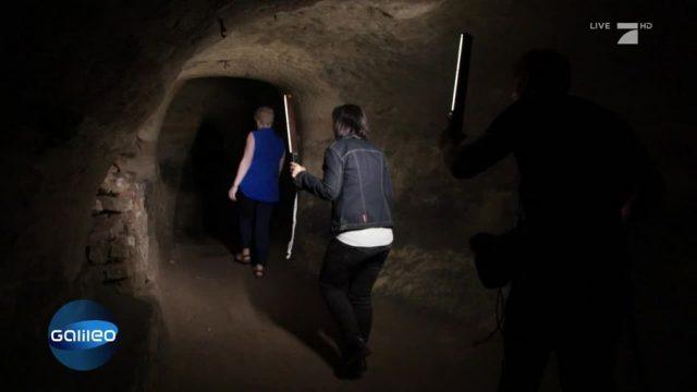 Größte Höhlensystem Europas: Die Unterwelt von Nottingham
