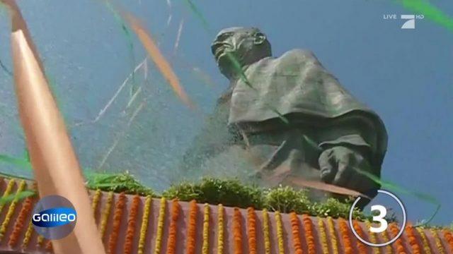 Indien: Höchste Statue der Welt enthüllt