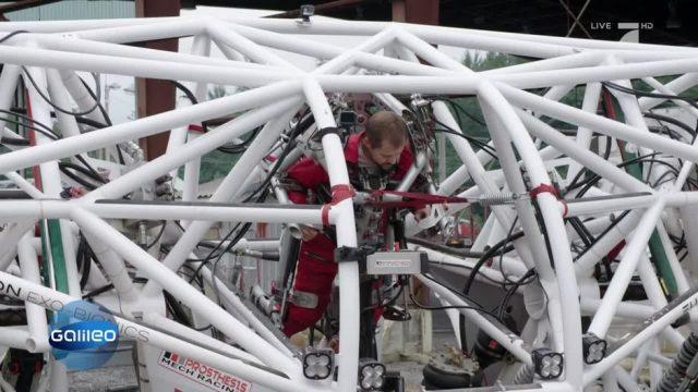 Ist das der erste Exo-Bionic-Roboter?