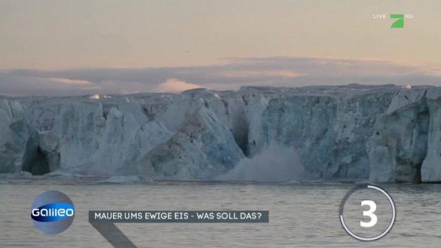 Kann Geo-Engineering das Schmelzen der Gletscher verhindern?