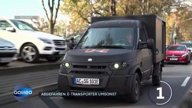 Kaum zu glauben: E-Transporter für umsonst