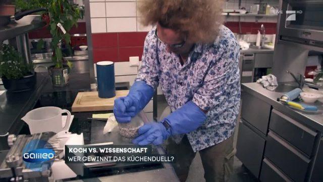Koch vs. Wissenschaftler: Wer kreiert das beste Gericht?