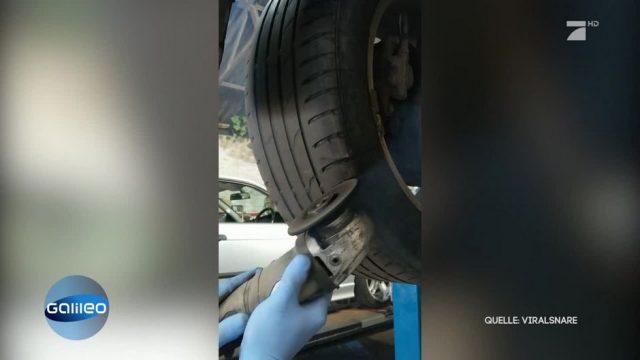 So einfach bekommen abgefahrene Reifen ein Profil