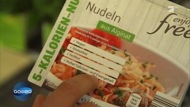 Algen-Nudeln: Wie schmeckt die kalorienarme Alternative?