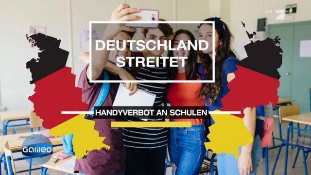 Darüber streitet Deutschland: Handyverbot an Schulen