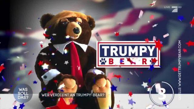 Der Trumpy-Bear: Wer verdient daran Geld?