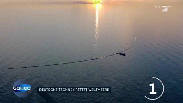 Deutsche Technik soll Weltmeere von Plastikmüll säubern