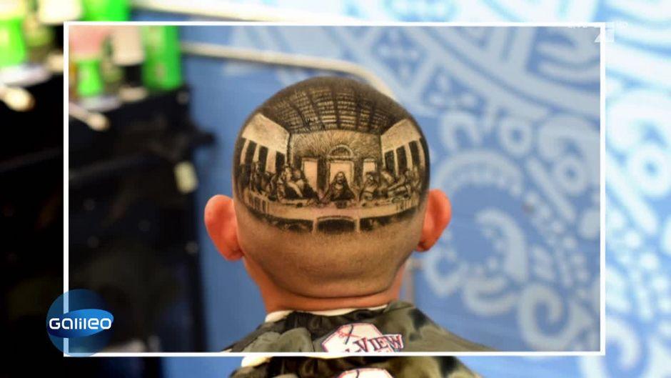 Extreme Haarkunst Diese Frisuren Sind Total Im Trend
