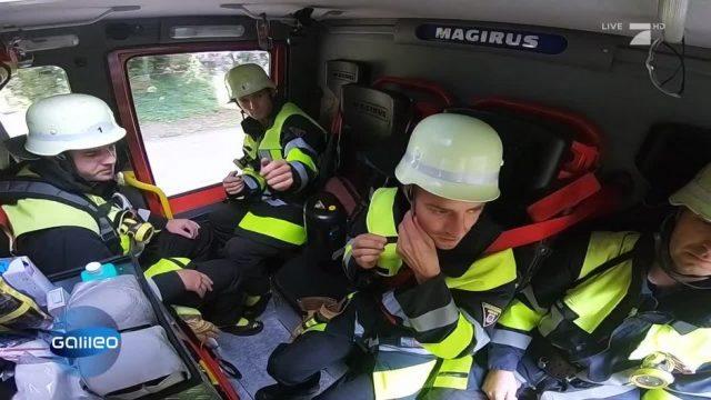 Extremes Selbstexperiment: 3 Tage und Nächte als Feuerwehrmann