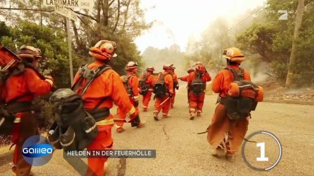 Kalifornien setzt Häftlinge als Feuerwehrleute ein