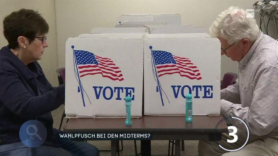 USA: Droht Wahlpfusch bei den Midterm-Wahlen?