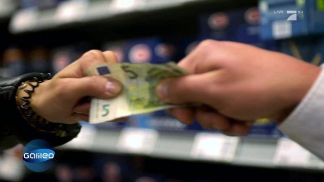 Verlorenes Geld im Supermarkt: Wer darf es behalten?