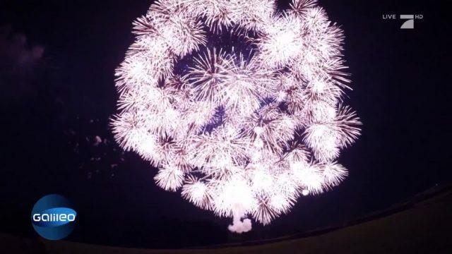Der größte Feuerwerkskörper der Welt