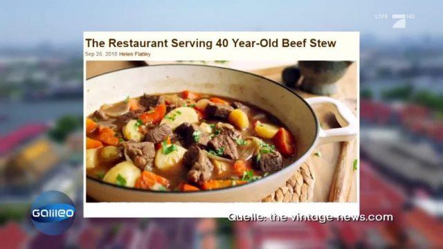 Finde die Fake News: Kocht diese Suppe seit 40 Jahren?