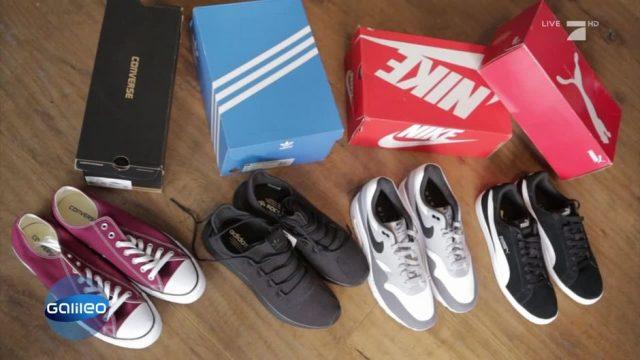 Gefakte Sneaker: Daran könnt ihr sie erkennen