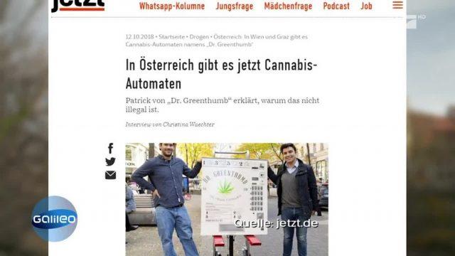 Gibt es in Österreich wirklich Cannabis-Automaten?