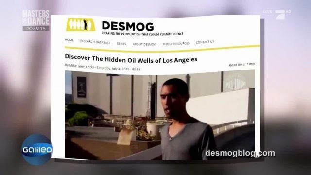 Gibt es tatsächlich Erdöl in Los Angeles?