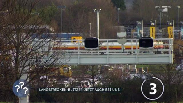 Langstrecken-Blitzer: Jetzt auch in Deutschland!