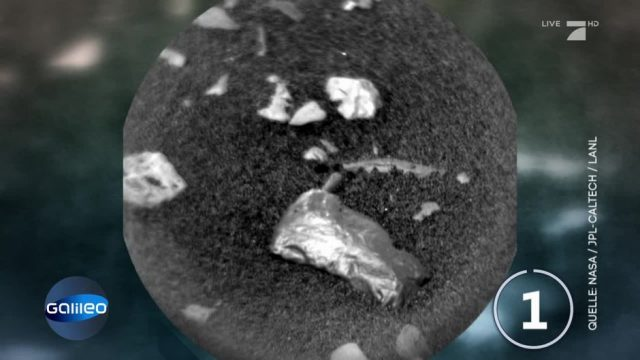 Neue Entdeckung auf dem Mars