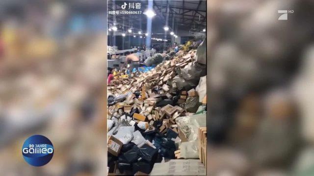 Paketwahnsinn in China
