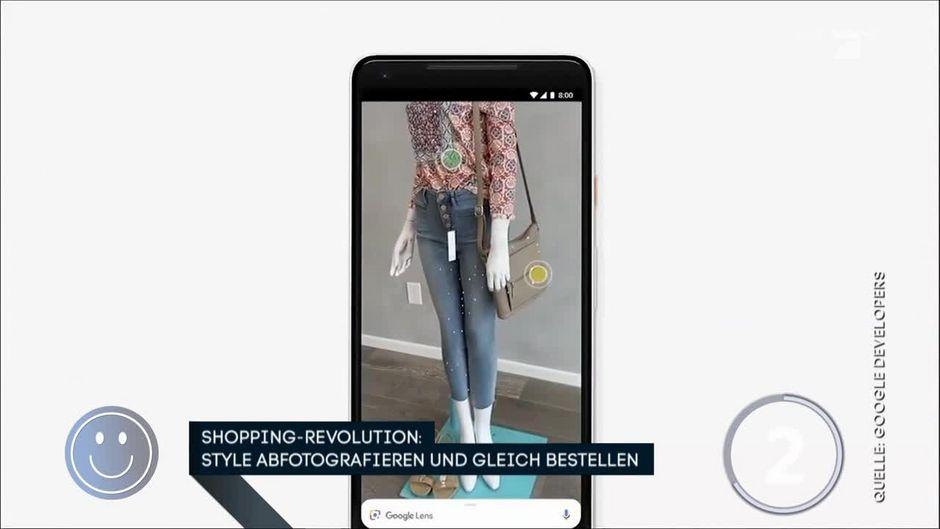 1f5dae5e7d2801 Shopping-Revolution  Klamotten abfotografieren und sofort bestellen