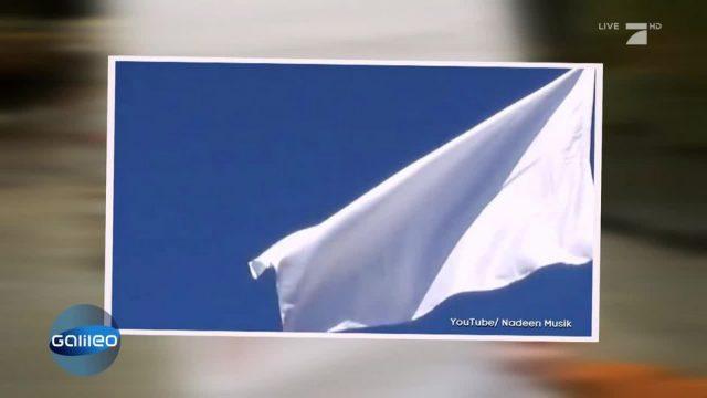 Spaß mit Flaggen: Weiße Flagge